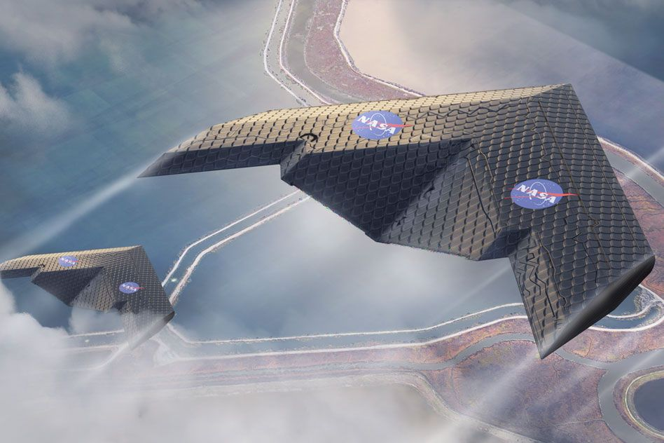 MIT and NASA engineers demonstrate a new kind of airplane wing | MIT News |  Massachusetts Institute of Technology