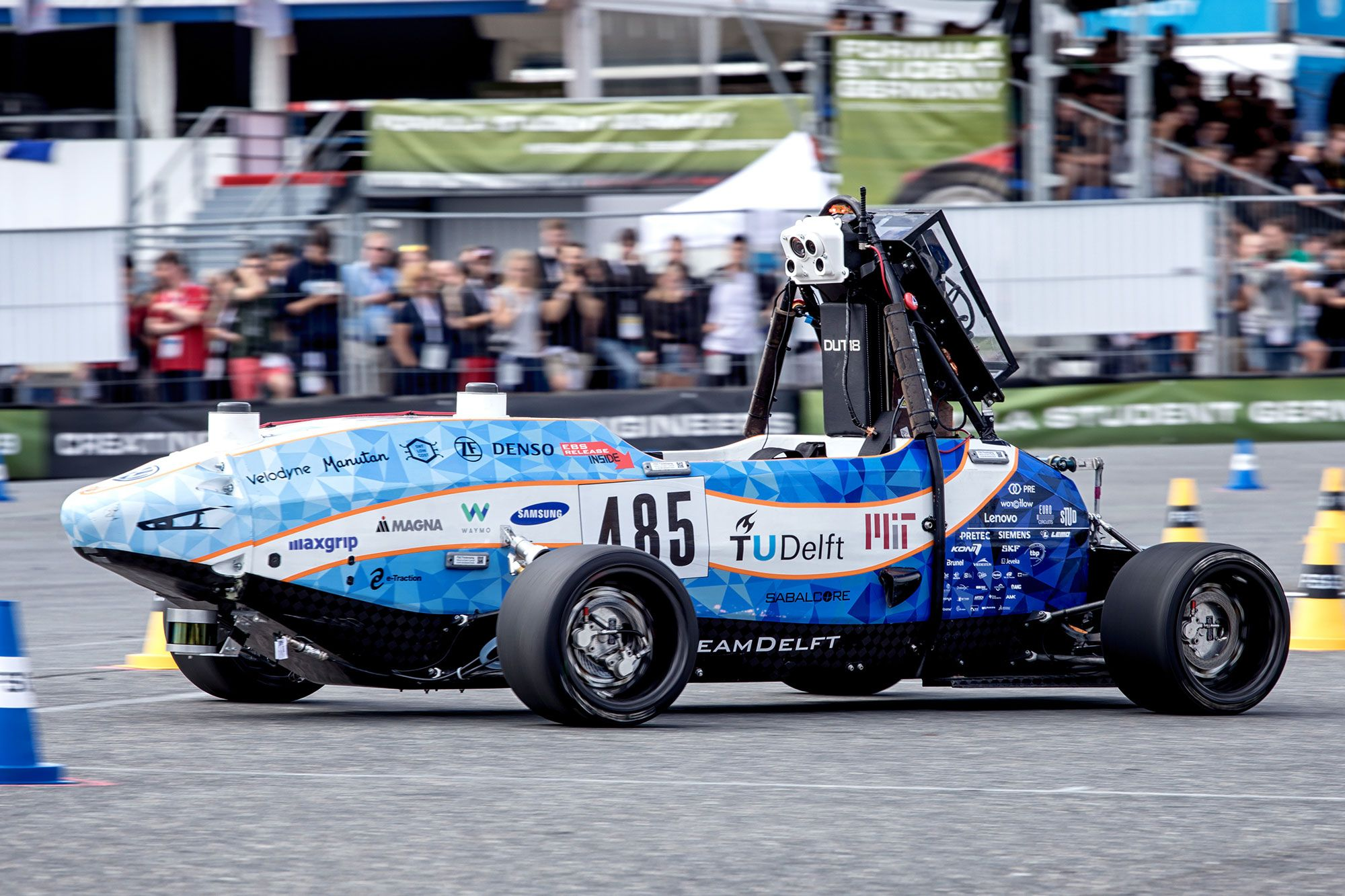 Mit Delft University Of Technology Team Places Third In Formula Student Germany Driverless Competition Mit News Massachusetts Institute Of Technology
