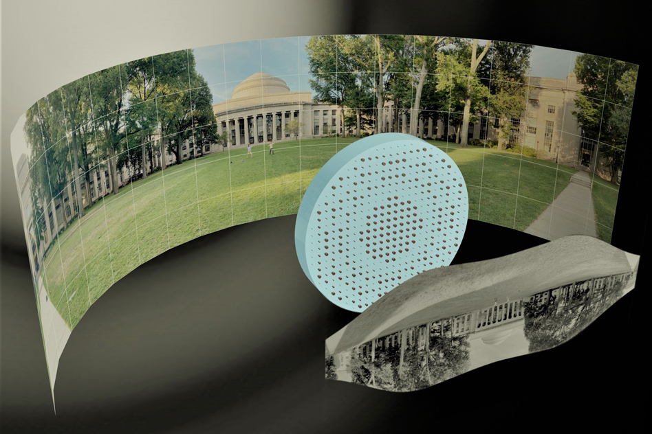 Engineers produce a fisheye lens that's completely flat