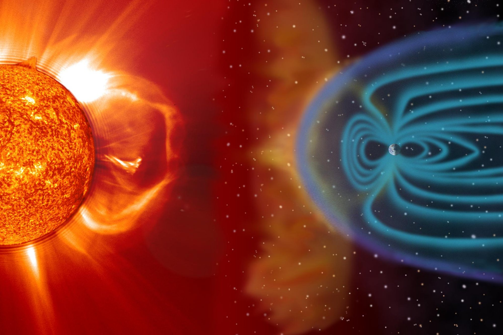MIT-led team to develop software to help forecast space storms