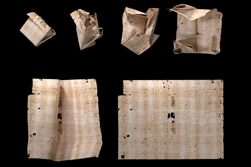 Researchers virtually open and read sealed historic letters - MIT News