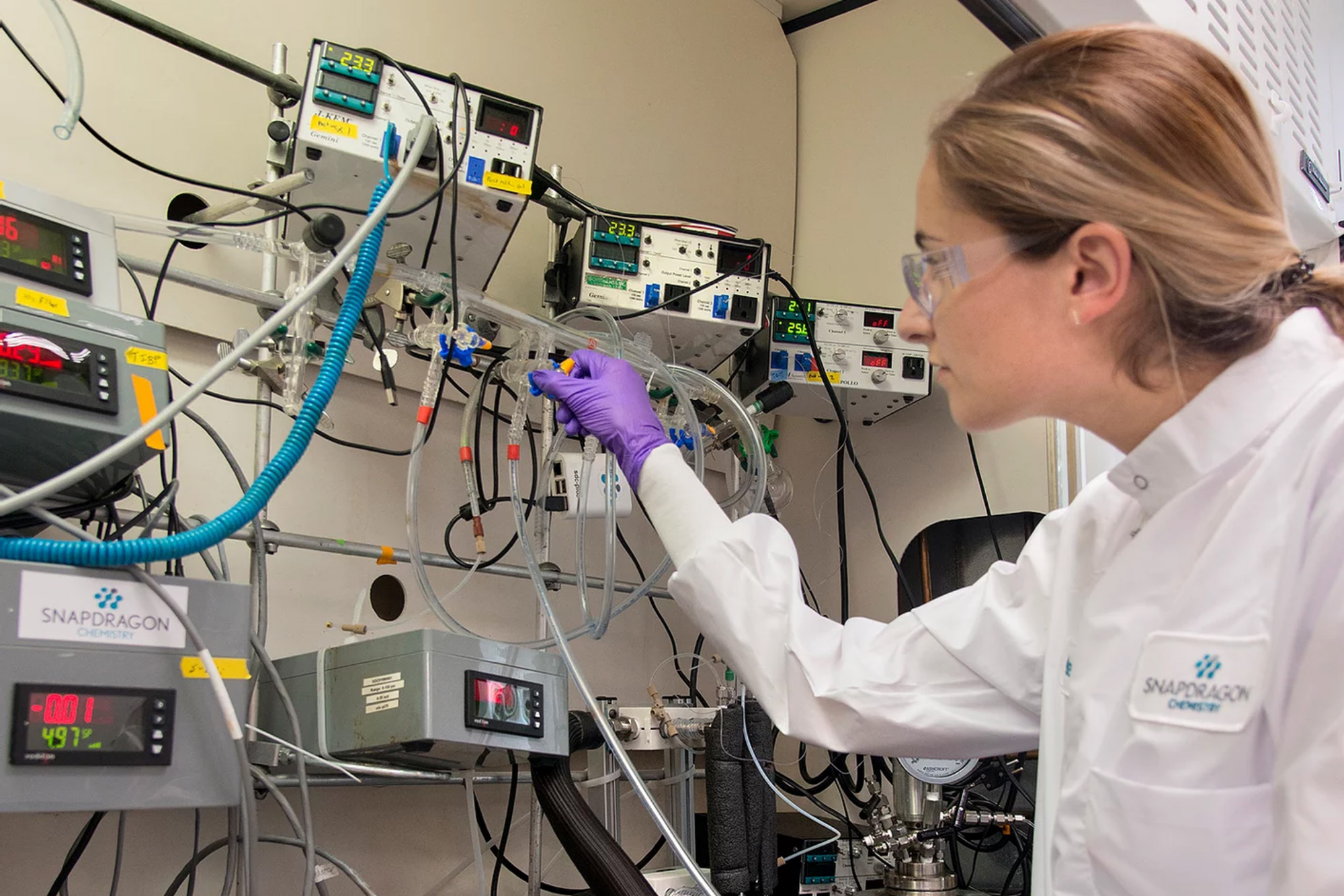 Speeding up clinical trials by making drug production local
