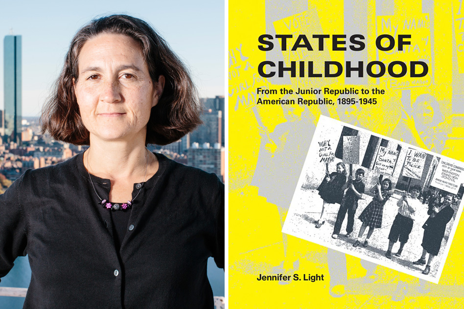 """""""Junior republics,"""" a unique concept in the history of American childhood"""