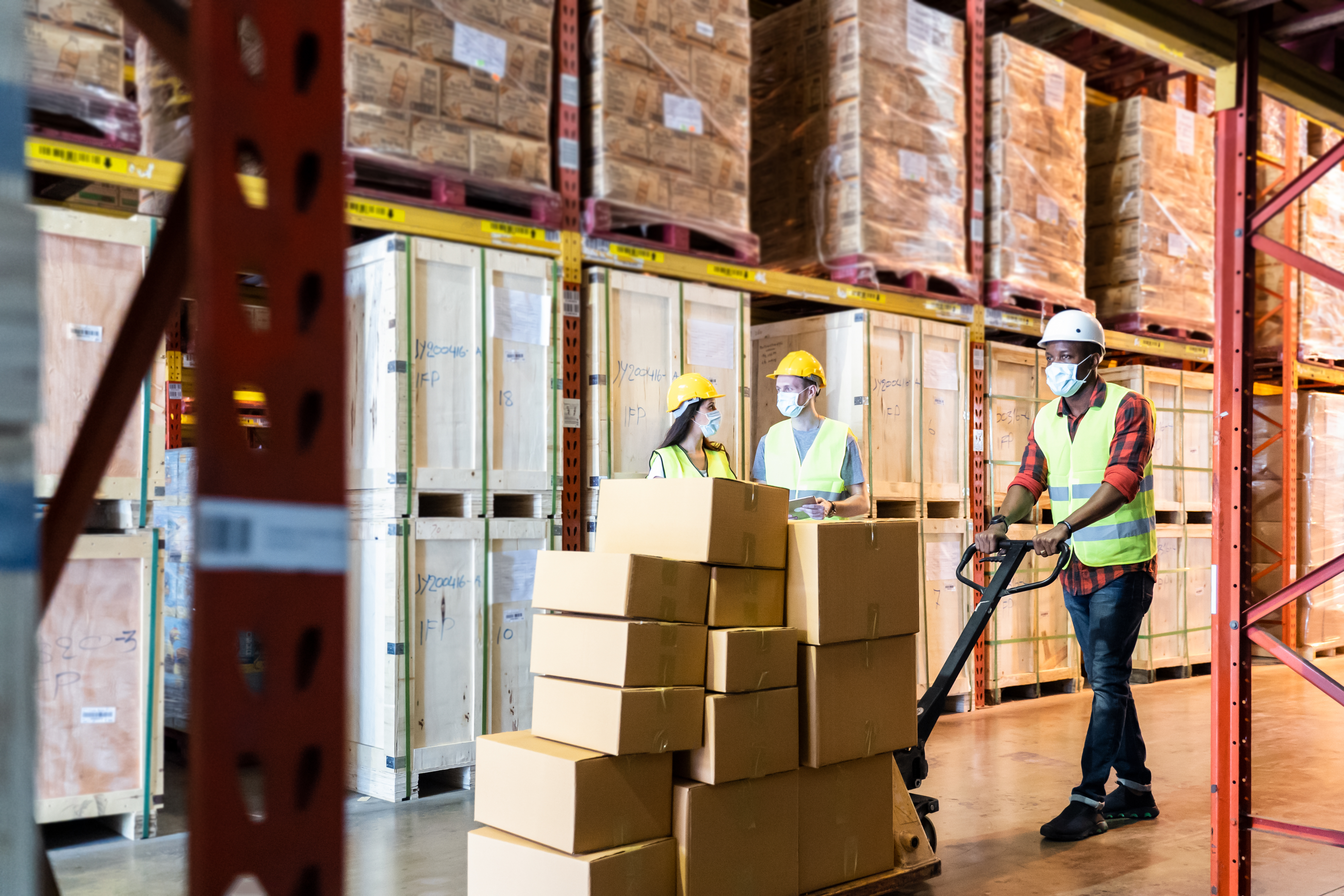 3 Questions: Frank Levy and Arshia Mehta on warehousing and trucking in response to Covid-19