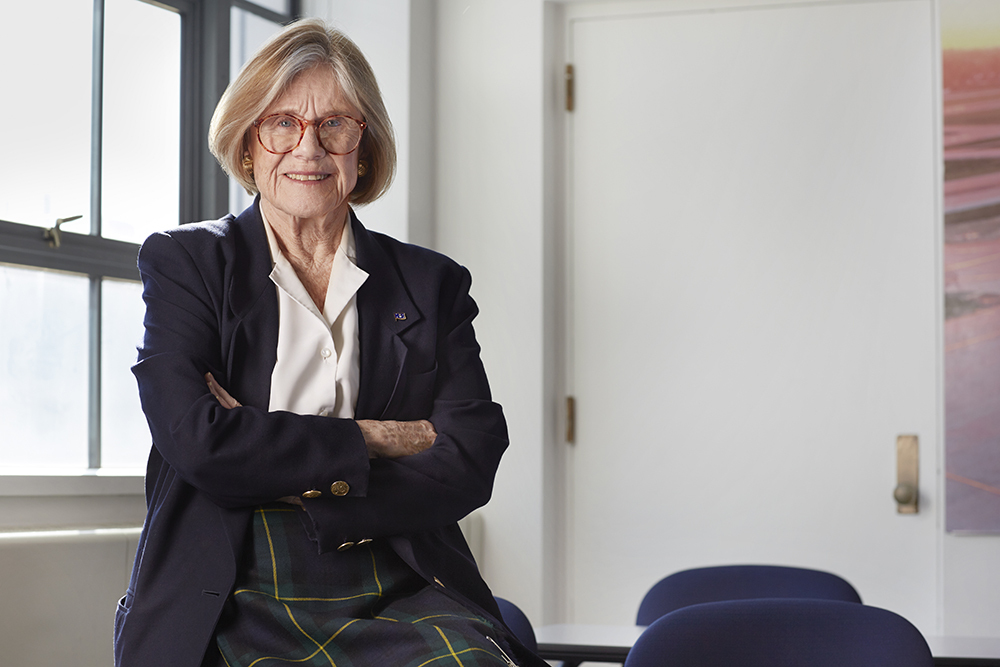 Sheila Widnall: A lifetime exploring the unknown