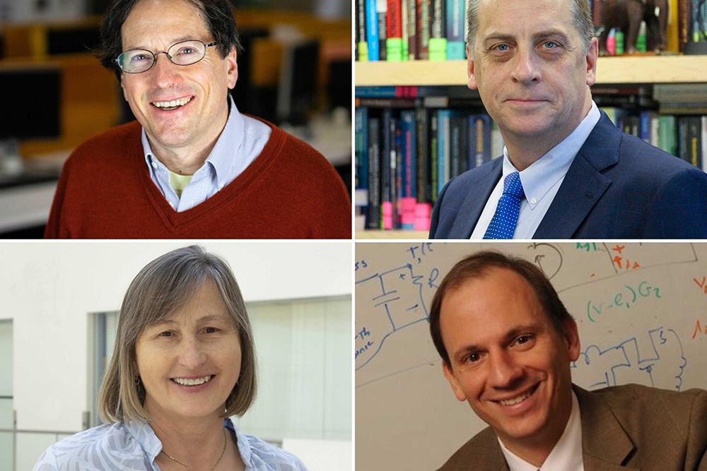 Four MIT researchers elected to the National Academy of Engineering for 2021