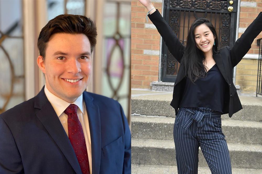 MIT juniors Yu Jing Chen and Max Williamson named 2021 Truman Scholars