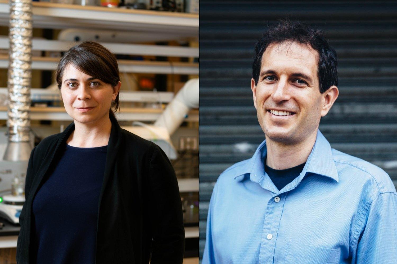 Desirée Plata and Justin Steil win Edgerton Faculty Award