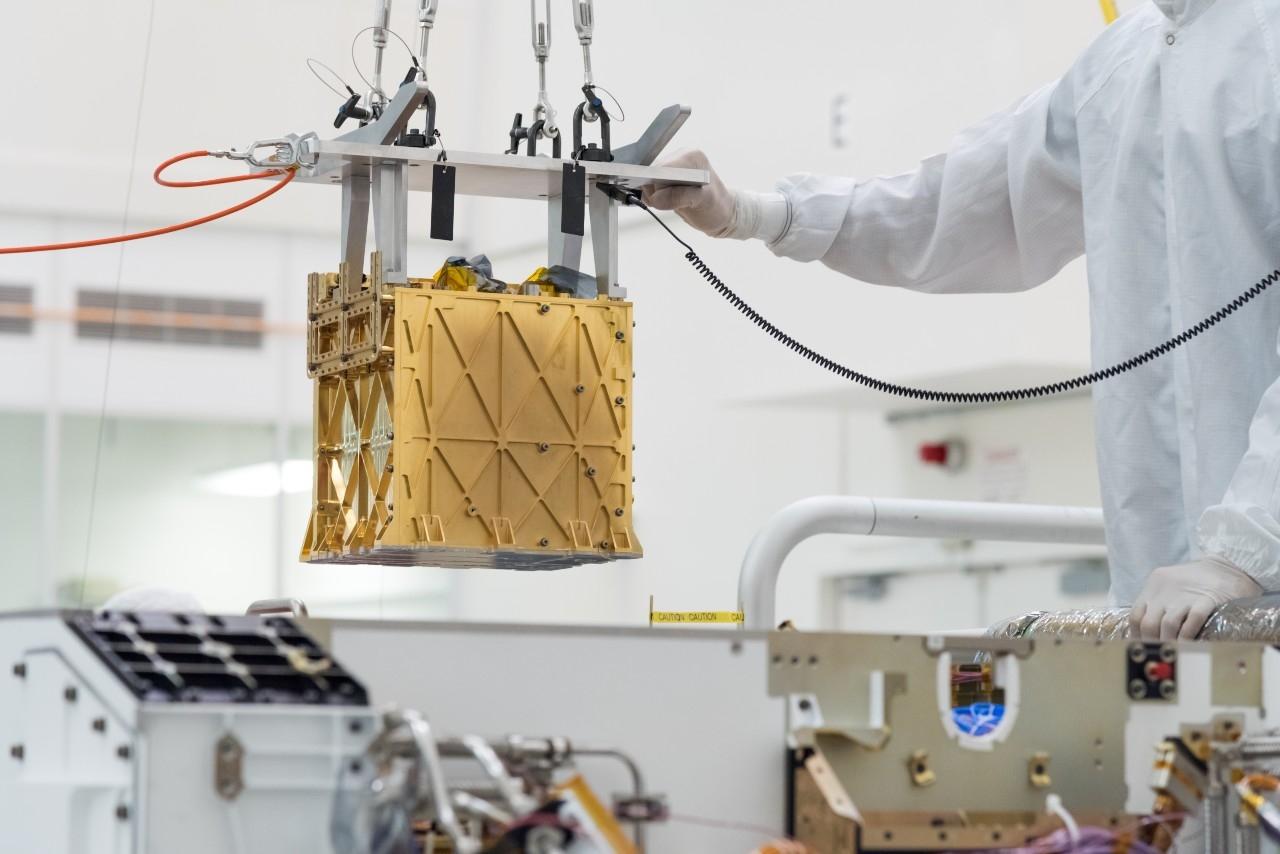 Aboard NASA's Perseverance rover, MOXIE creates oxygen on Mars