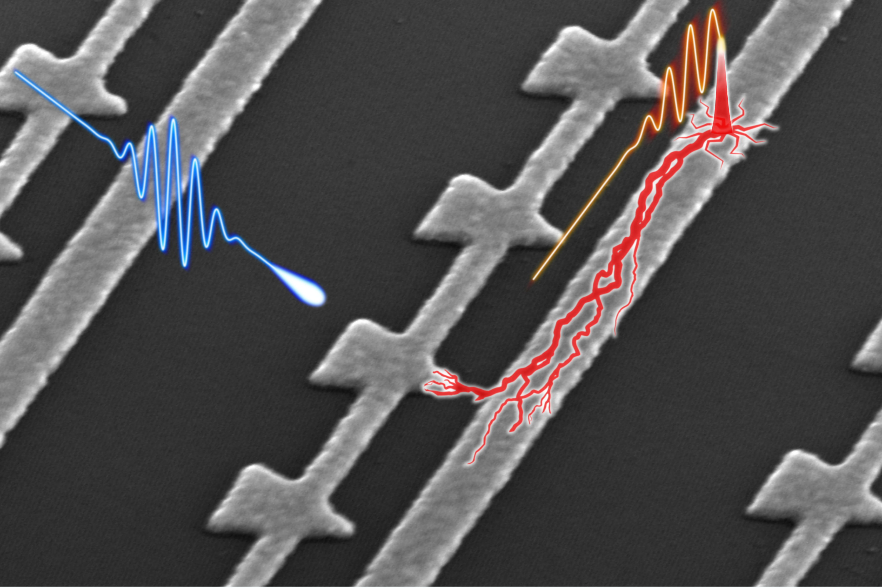 Nanostructured device stops light in its tracks