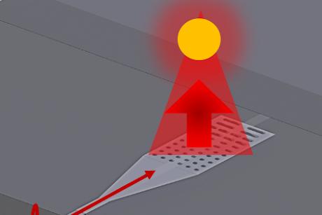 Nano flashlight enables new applications of light