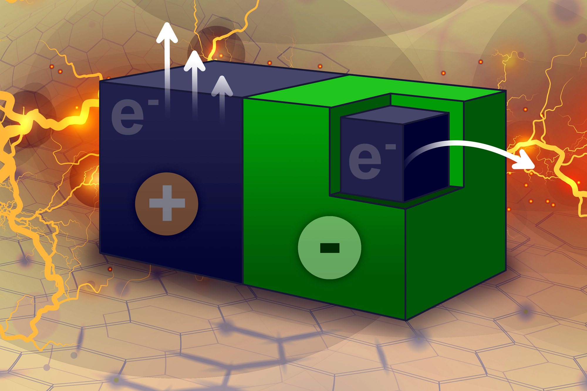 Tiny particles power chemical reactions
