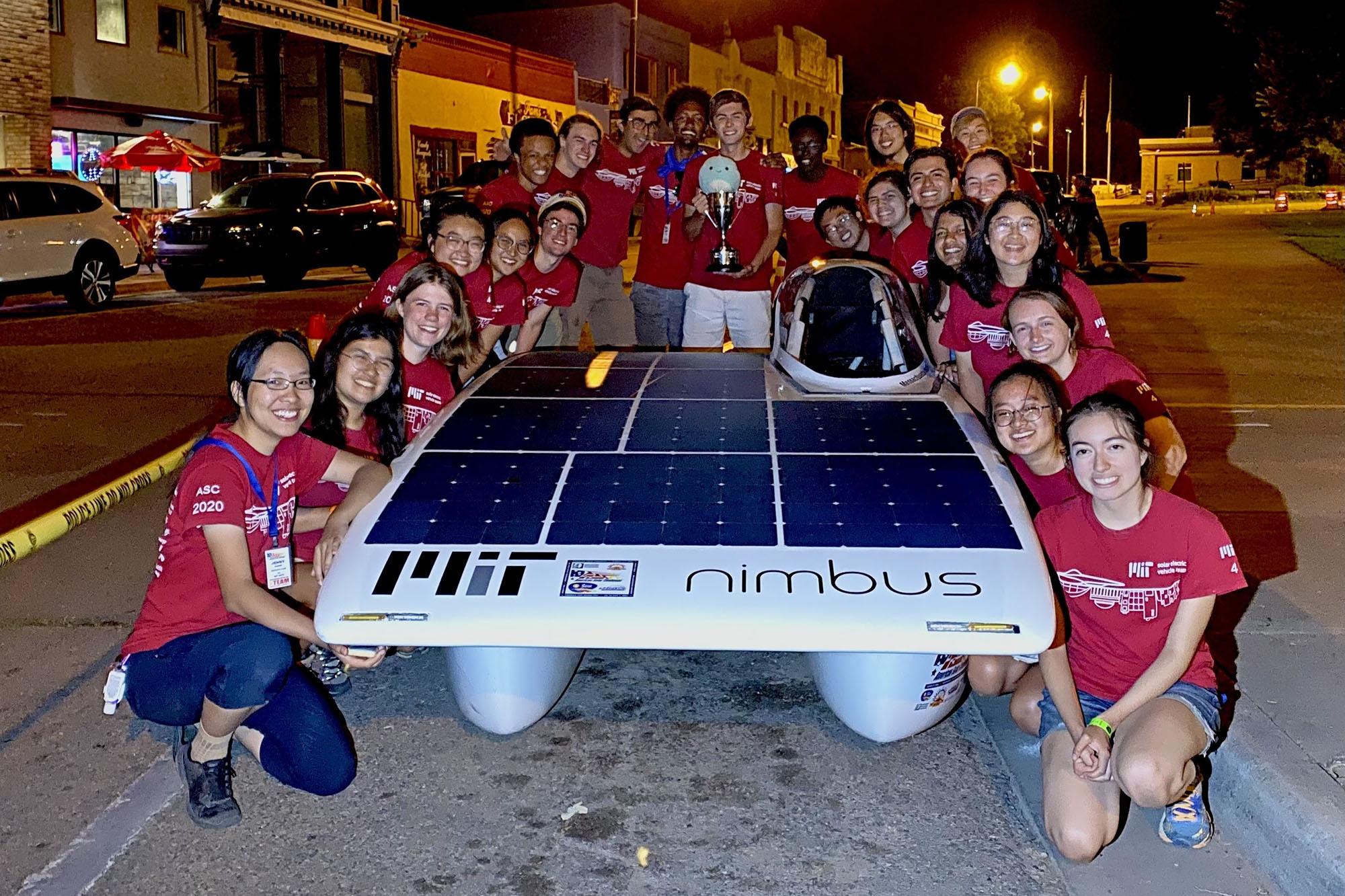 MIT Solar Electric Vehicle Team wins 2021 American Solar Challenge