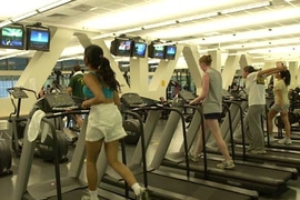 The cardio exercise room at MIT's Zesiger Center was recently named 'Best Cardio Gym' in the Boston metro area by CBS4Boston.com.