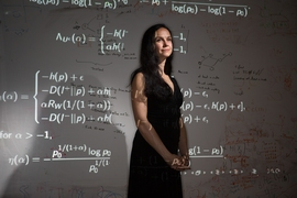 Muriel Médard is a professor in the MIT Department of Electrical Engineering.
