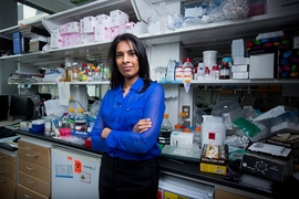 MIT professor Sangeeta Bhatia has developed a new paper diagnostic that can detect cancer by identifying biomarkers in the patient's urine.