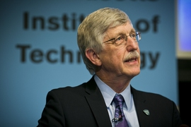 "Francis S. Collins, director of the National Institutes of Health, was the featured speaker at the 2014 Karl Taylor Compton Lecture at MIT. His talk was titled, ""Exceptional Opportunities in Biomedical Research."""