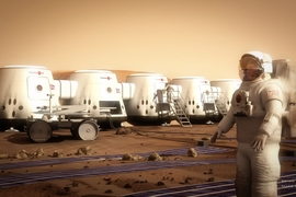 More than 200,000 people around the world have applied to be the first Mars colonists.