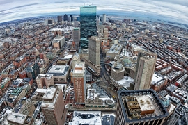 A new study shows that industry clusters aid economic growth in cities such as Boston (pictured).