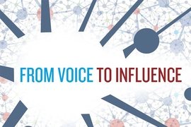 "The cover of ""From Voice to Influence"" (University of Chicago Press), by Danielle Allen and Jennifer Light."