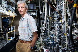MIT Professor Wolfgang Ketterle is an expert in trapping and cooling atoms to temperatures close to absolute zero. In 2001 he received a share of the Nobel Prize in physics for achieving Bose–Einstein condensation in dilute gases.