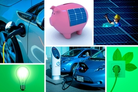 Governments usually provide subsidies based on overall adoption targets, such as the number of cars or solar panels they would like to see purchased over a period of time. But green technologies are often new products, and no one really knows how many consumers are waiting to buy them.