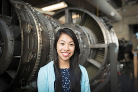 "Aerospace engineering involves a combination of disciplines, Raichelle Aniceto says: ""You have to understand the mechanical structure, but you also have to know the code and software, as well as the systems. And on top of that, you have to learn the physics to make things fly."""