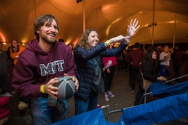 MIT Moving Day ended with fun and games for everyone in attendance.