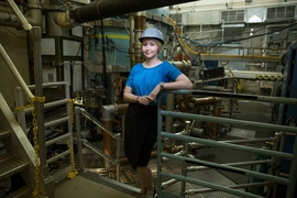 """When I started in graduate school I knew already that I wanted to work on turbulence in tokamaks,"" says Anne White, the Cecil and Ida Green Associate Professor in Nuclear Engineering in MIT's Plasma Fusion and Science Center."