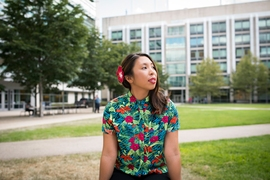 """If there's any place that I can do the weird stuff that I like to do, it would be in academia, and it would be at MIT,"" says PhD student Lily Bui. ""I'm not quite satisfied with being pigeonholed into one role, and I think that's just going to stay the case for the rest of my life."""