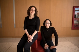 (Left to right): Heidi Williams, the Class of 1957 Career Development Associate Professor in MIT's Department of Economics; and Amy Finkelstein, the John and Jennie S. MacDonald Professor of Economics at MIT. By scrutinizing millions of Medicare patients who have moved from one place to another, the researchers have found that patients and providers account for virtually equal shares of the diff...