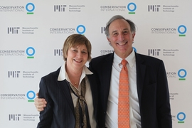 MIT's Maria T. Zuber and Conservation International's Peter Seligmann