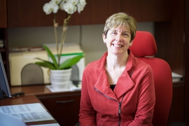 Suzy Nelson, vice president and dean for student life