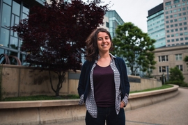 """I was happy I didn't get accepted into an engineering-only school, because I have two left hands and I'm way more interested in social sciences,"" PhD student Aicha Ben Dhia says."