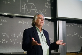 Kerry Emanuel, the Cecil and Ida Green Professor of Atmospheric Science and co-director of the Lorenz Center at MIT