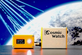 Physicists at MIT have designed a pocket-sized cosmic ray muon detector to track these ghostly particles.