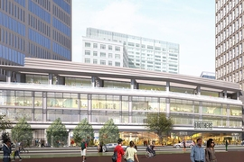 Kendall Square will soon be the home of the new Roche Brothers grocery store.