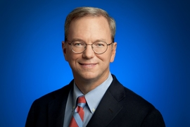 Eric Schmidt (pictured), who until January was the executive chairman of Google's parent company, Alphabet, will join MIT as a visiting innovation fellow for one year, starting in Spring.