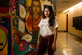 With one foot in a dual bachelor's and master's program in urban studies and the other in an array of educational and community outreach programs, Yazmin Guzman applies the same careful coordination she perfected as a Mexican folkloric dancer to her life at MIT.