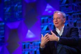 "Eric Schmidt, the former executive chairman of Google's parent company, Alphabet, and a founding advisor to the Intelligence Quest, said MIT is positioned to turn Cambridge into an AI center. ""We are auguring the Age of Intelligence right here,"" he said."
