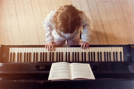 A new study from MIT has found that piano lessons have a very specific effect on kindergartners' ability to distinguish different pitches, which translates into an improvement in discriminating between spoken words.