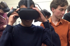 In MIT's hands-on humanities class CMS.339 (Virtual Reality and Immersive Media Production), students are grappling with multiple dimensions of making virtual reality, from technical challenges, to philosophical questions, to the art of storytelling.