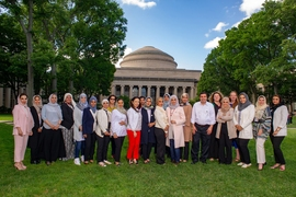 In July, current and former fellows convened for the first ever Ibn Khaldun Fellowship reunion. The event was organized by recently appointed program manager Theresa Werth, former program manager Kate Anderson, and program director Kamal Youcef-Toumi.
