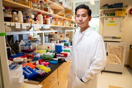 Zijay Tang, a PhD Candidate in MIT's Department of Biological Engineering.