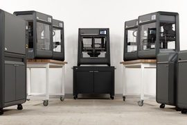 Desktop Metal's Studio System is designed to make the production of metal parts an office-friendly experience.