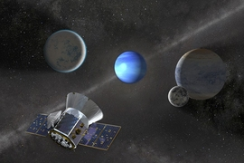NASA's TESS mission, which will survey the entire sky over the next two years, has already discovered three new exoplanets around nearby stars.