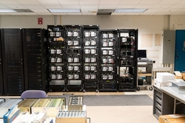 The correlator, developed at MIT's Haystack Observatory, is a supercomputer designed to take in and analyze enormous streams of data from each of EHT's telescopes.
