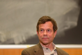 "Alan Lightman and his new novel, ""Three Flames."""