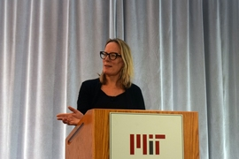 Beth Daley, editor of The Conversation US, discussed new ways for scientists to reach the public.