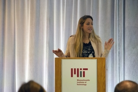 "Dianna Cowern, MIT alumna who created the ""Physics Girl"" YouTube channel, described her work."
